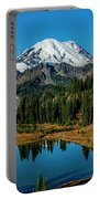 Natures Reflection - Mount Rainier Portable Battery Charger