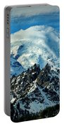 Early Snow - Mount Rainier  Portable Battery Charger