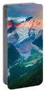 Mount Rainier And White River Portable Battery Charger