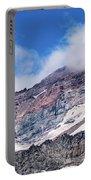 Mount Rainier Closeup Portable Battery Charger
