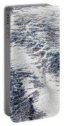 Mount Rainier Glacier Abstract Portable Battery Charger