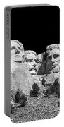 Mount Rushmore Bw Portable Battery Charger