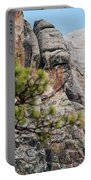 Mount Rushmore George Washington Landscape Portable Battery Charger