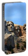 Mount Rushmore In South Dakota Portable Battery Charger