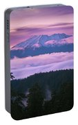 Mount Saint Helens Sunset Portable Battery Charger