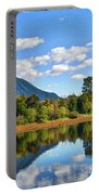 Mount Si Overlooks Mill Pond Portable Battery Charger