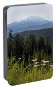 Mount St Helens In Washington State Portable Battery Charger