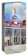 Mount Vernon After The Squall Portable Battery Charger