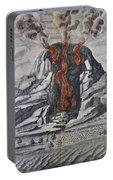 Mount Vesuvius, 1665 Portable Battery Charger