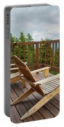 Mountain Adirondack Chairs Portable Battery Charger