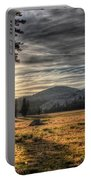 Mountain Afternoon Portable Battery Charger