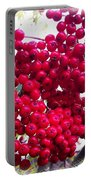 Mountain Ash Berries Vignette Portable Battery Charger