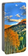 Mountain Beauty Of Fall Portable Battery Charger