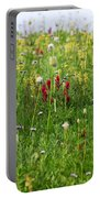 Mountain Flowers Portable Battery Charger