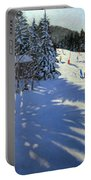 Mountain Hut Portable Battery Charger by Andrew Macara