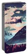 Mountain  Landscape Vista Portable Battery Charger