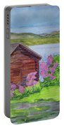 Mountain Laurel By The Cabin Portable Battery Charger