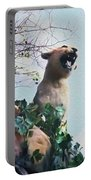 Mountain Lion - Paint Effect Portable Battery Charger