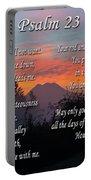 Mountain Morning Prayer Portable Battery Charger