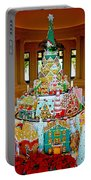 Mountain Of Christmas Cheer Portable Battery Charger