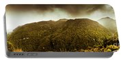 Mountain Of Trees Portable Battery Charger