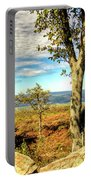 Mountain Overlook At High Point New Jersey Portable Battery Charger