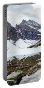Mountain Picture Lake Agnes Portable Battery Charger