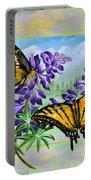 Mountain Swallowtail Portable Battery Charger