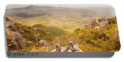 Mountain Valley Landscape Portable Battery Charger