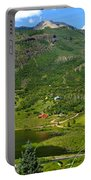 Mountain View In Colorado Portable Battery Charger