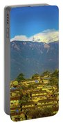 Mountain Village Portable Battery Charger