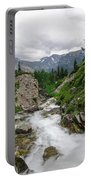Mountain Vista Portable Battery Charger by Margaret Pitcher