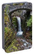 Christine Falls Mt. Rainier Portable Battery Charger