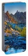 Mountainous Paradise Portable Battery Charger
