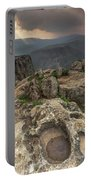 Mountainous Terrain Of Israel Portable Battery Charger