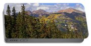 Mountains Aglow Portable Battery Charger
