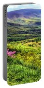 Mountains And Valleys Portable Battery Charger