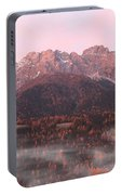 Mountains At Dawn Portable Battery Charger