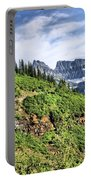 Mountains In Glacier National Park 1 Portable Battery Charger