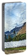 Mountains In Glacier National Park 2 Portable Battery Charger