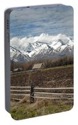 Mountains In Logan Utah Portable Battery Charger