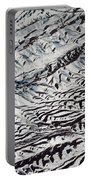 Mountains Patterns. Aerial View Portable Battery Charger