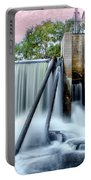 Mousam River Waterfall In Kennebunk Maine Portable Battery Charger
