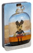 Mouse In A Bottle  Portable Battery Charger