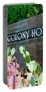 Movie Colony Hotel Palm Springs Portable Battery Charger