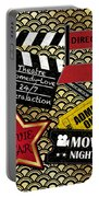 Movie Night-jp3613 Portable Battery Charger