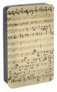 Mozart: Requiem Excerpt Portable Battery Charger
