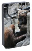 Mr And Mrs Orangutan Portable Battery Charger