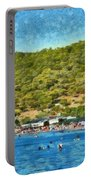 Megalo Kavouri Beach Portable Battery Charger