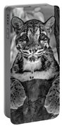 Ms Paws Monochrome Portable Battery Charger